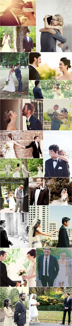 "Praise Wedding » Wedding Inspiration and Planning » 39 ""First Look"" Photos"