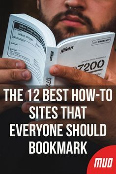 The 12 Best How-To Sites That Everyone Should Bookmark – Technology Updated Ideas Hacking Websites, Life Hacks Websites, Learning Websites, Educational Websites, Cool Websites, Video Websites, Educational Crafts, Life Hacks Computer, Computer Internet