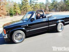 1989 Dodge Dakota SE Convertible - Going Topless