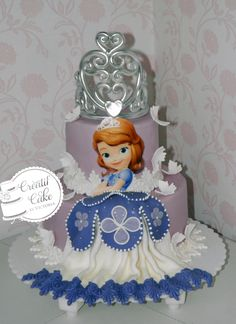 Gâteau Princesse Sofia Entièrement comestible LImoges