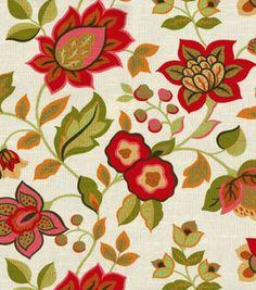 Richloom Studio Home Decor Print Fabric Consuela Persimmon