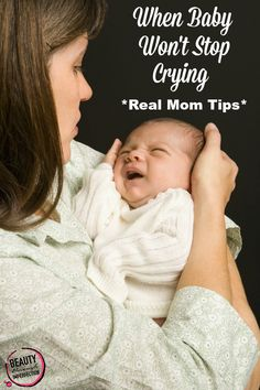 Baby Crying 101 – Baby Care Tips Baby Wont Stop Crying, Baby Information, Getting Ready For Baby, Baby Hacks, Mom Hacks, Life Hacks, Newborn Care, Everything Baby, Baby Time