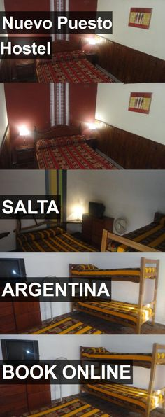 Hotel Nuevo Puesto Hostel in Salta, Argentina. For more information, photos, reviews and best prices please follow the link. #Argentina #Salta #NuevoPuestoHostel #hotel #travel #vacation