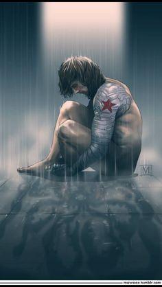 Bucky by unknown fan artist