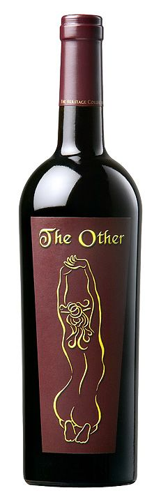 """Peirano Estates """"The Other""""     Cab, Merlot, and Syrah blend    One of those labels that I couldn't resist picking up."""
