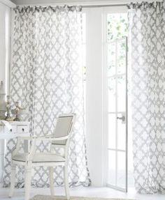 Softline Sheer Samara Burnout Window Treatment Collection