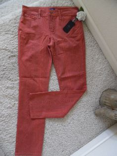 BNWT NOT YOUR DAUGHTER'S JEANS SKINNY PUMKIN 8~NYDJ LIFTTUCK WAIST 32~$124 #NOTYOURDAUGHTERSJEANSPUMKINBRICKWSNAK #NYDJPUMKINBRICKWITHSNAKEPRINT