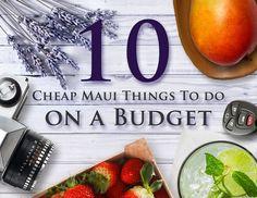 maui budget