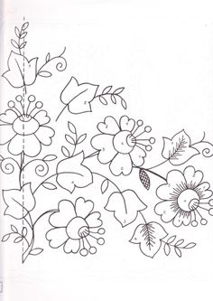 Folk Embroidery Patterns No title. Discussion on LiveInternet - Russian Service Online diary - Crewel Embroidery, Hand Embroidery Patterns, Applique Patterns, Craft Patterns, Embroidery Applique, Floral Embroidery, Beaded Embroidery, Cross Stitch Embroidery, Machine Embroidery