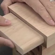 Mortise and tenon #processporn via @woodwhisperer
