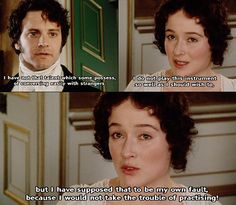 Pride and Prejudice directed by Simon Langton (TV Mini-Series, BBC, 1995) #janeausten #fanart