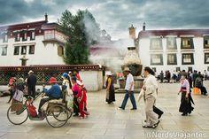 Jokhang Temple - Lhasa - Tibet.