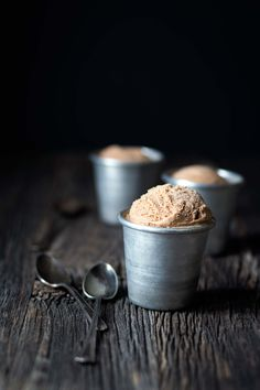 You don't want to miss this recipe for Malted Milk Chocolate Bourbon Ice Cream. It's a decadent, boozy treat that's perfect for homemade ice cream lovers. Ice Cream Desserts, Frozen Desserts, Ice Cream Recipes, Frozen Treats, Gelato, Bourbon Ice Cream, Best Food Photography, Beginner Photography, Photography Blogs