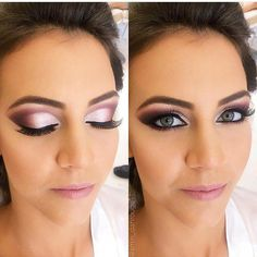 "2,112 curtidas, 39 comentários - Noivinhas Indecisas (@noivasindecisas) no Instagram: ""Que Make !! #penteadodenoiva #noiva #casamento #noivas #penteado #bride #wedding #makeup #penteados…"" #weddingmakeups"