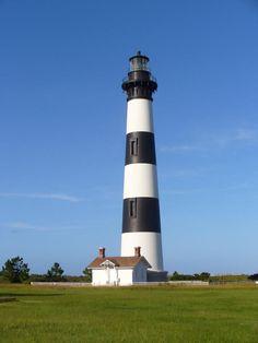 Bodie Island Lighthouse - North Carolina - visited on 9-12-06