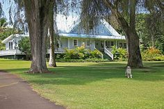 In the past, sugar plantation manager's homes often represented the pinnacle of architectural grace and grandeur for their time. Description from clarkhawaii.com. I searched for this on bing.com/images