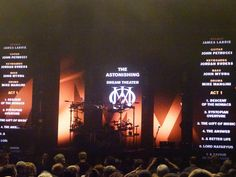 Goodbye's from Dream Theater at Carre' Amsterdam 23 Feb.2016
