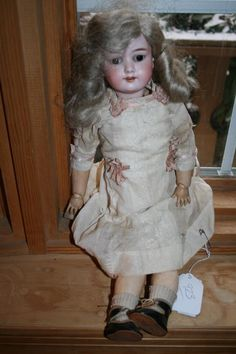 ARMAND MARSEILLE BISQUE DOLL 390 ANTIQUE MADE IN GERMANY