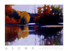 Perfect Autumn, Art Print by Tadashi Asoma