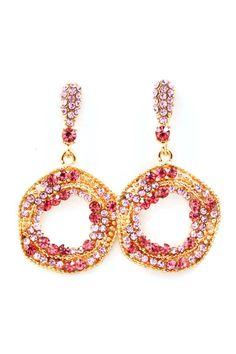 Sugary Crystal Earrings