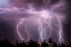 October 14 2015 Lightning storm over Bakersfield, CA. Shot using a Nikon D800 through Nikkor 50mm f/1.4 Prime Lens. Composite image in Adobe Photoshop of 4 individual frames. © 2015 Eric James Swearingen #artofericjames