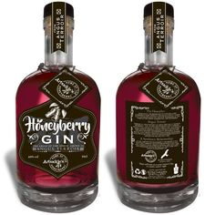 Arbuckle's Honeyberry Gin – Strathearn Distillery Fun Drinks Alcohol, Alcohol Drink Recipes, Alcoholic Drinks, Cocktails, Gin Recipes, Cocktail Recipes, Gin Brands, Strong Drinks, Gin Bar