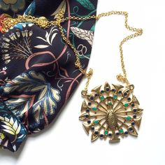 """NWOT House of Harlow Pave Peacock Necklace 🎉🎉HOST PICK! Essential Style Party!!🎉🎉NO TRADES. OFFERS WELCOME. PLEASE USE THE OFFER BUTTON. I DO NOT NEGOTIATE PRICE IN THE COMMENTS. House of Harlow 1960 by Nicole Richie peacock statement necklace. 14k gold-plated Palladium with blue and teal enamel on tail feathers. Chain is 20"""" long. Diameter of pendant is 2"""". Lobster claw clasp. Made in USA. Gorgeous dressed up or down!! New, never worn. House of Harlow 1960 Jewelry Necklaces"""