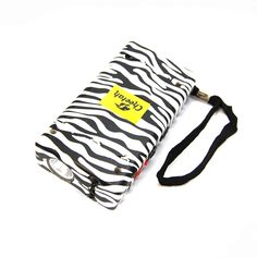 DEFENDER FORCE 10 MILLION VOLT STUN GUN RECHARGEABLE LED LIGHT SELF DEFENSE - ZEBRA