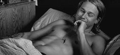 And an equally handsome Charlie Hunnam. | Can You Make It Through This Post Without Drooling?