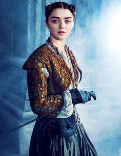 Maisie Williams as Arya Stark for Entertainment Weekly