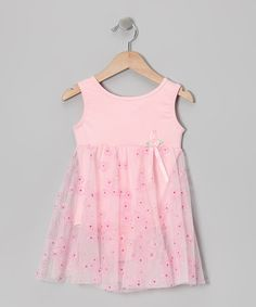 Take a look at this Pink Floral Bow Skirted Leotard - Toddler & Girls by Body Wrappers on #zulily today!