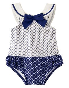 Geo Floral One-Piece Swimsuit at Gymboree