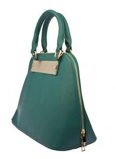 Kuma Gold Plate Handbag Teal