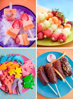 Summer food for kids, this is perfect for those afternoons of babysitting