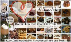 Over 40 Low-Carb and Grain-Free Chocolate Treats!