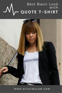 Quote, T Shirt, Fashion Tips, Tops, Women, Quotation, Supreme T Shirt, Fashion Hacks, Tee Shirt