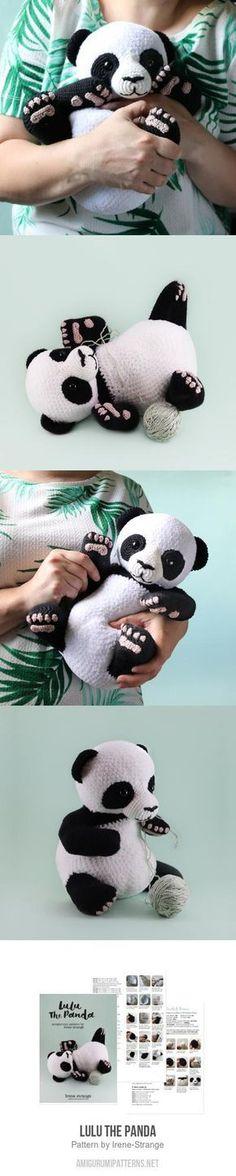 Excellent Cost-Free Crochet animals panda Tips Lulu The Panda amigurumi pattern – Chat Crochet, Crochet Bear, Crochet Animals, Diy Crochet, Crochet Crafts, Crochet Dolls, Crochet Panda, Crochet Blanket Patterns, Baby Knitting Patterns