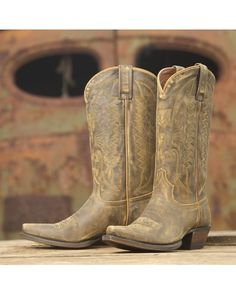 Eight Second Angel Women's Dakota Boot - Vintage Honey