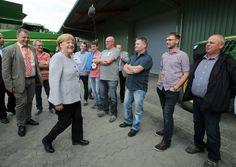 Merkel im Wahlkampf in Mecklenburg-Vorpommern: Immerhin nicht ausgebuht - SPIEGEL ONLINE - Politik