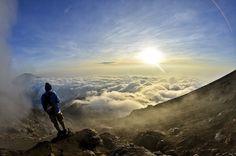 Sunrise mount merapi, Central Java
