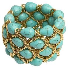 Tana Bracelet in Turquoise at Joss and Main