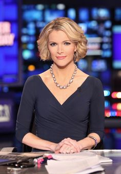 "As host of the daytime program America Live on Fox News, Megyn Kelly understands what it takes to attract an audience. ""It's a visual business,"" the blonde bombshell said in a characteristically frank interview with GQ. ""People want to see the anchor."" Her candid approach may be working in her favor. Kelly, who pairs classic, streamlined silhouettes with an expansive collection of stilettos, renewed her contract with the network earlier this month."