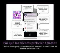 """Por que los Clientes prefieren el QR.tel ® vea las ventajas de pertenecer a esta plataforma multicanal que funciona en todos los dispositivos móviles, tablet y pc simultaneamente. Optimice e impulse su """"marca"""" con esta nueva y premiada tecnología, no importa si ya tiene web o blog, nosotros integramos en un solo sitio rápido y móvil toda su información y canales que ud. tiene en la internet y la conectamos en un solo click... info en http://tumarca.valenciamovil.tel o haz click en la imagen."""