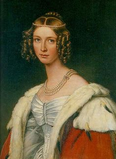 Théodolinde de Beauharnais, Princess of Leuchtenberg ( 1814 – 1857), Countess of Württemberg by marriage, was a granddaughter of Joséphine de Beauharnais, Napoleon's first wife. Fifth of the seven children of Eugène de Beauharnais, Duke of Leuchtenberg, and his wife, Princess Augusta of Bavaria, Théodolinde had two brothers (Auguste and Maximilian) and three surviving sisters (Joséphine [later queen of Sweden], Eugénie, and Amélie). Joséphine de Beauharnais was her paternal grandmother.