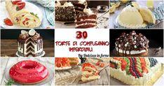 30 Torte di compleanno facili e veloci IMPERDIBILI per bambini e adulti, torte da fare in casa semplici, torte di compleanno particolari e originali, torte sfiziose, torte semplici ma buone.
