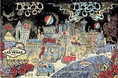 Vegas - Dead and Company - Mickey Hart, Bill Kreutzmann, and Bob Weir of Grateful Dead with John Mayer featuring Oteil Burbridge and Jeff Chimenti. Nevada, John Perry Barlow, Phil Lesh And Friends, Las Vegas, Mickey Hart, Jerry Garcia Band, Bob Weir, Wall Of Sound