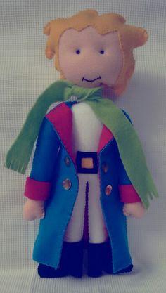 Pequeno Príncipe em feltro.