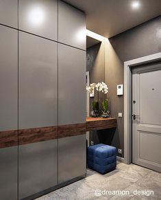 Делимся популярной идеей шкафа для прихожей в современном стиле. Наши проекты #dreamon_design ________________________________________…