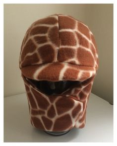 Ready to ship giraffe earth tones Equine Horseback Riding Winter Helmet Cover handmade horse tack Equestrian Wear by TheStitchingHorse on Etsy https://www.etsy.com/listing/257221723/ready-to-ship-giraffe-earth-tones-equine