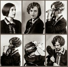 How to do Marcel Waves AKA Finger Waves or Shadow Waves. Marcel Waves, Victorian Hairstyles, Retro Hairstyles, Pelo Retro, Pelo Vintage, Vintage Waves, Vintage Diy, Pin Curls, Up Girl